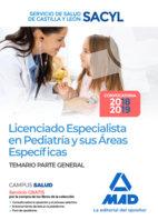 Licenciado especialista pediatria temario sacyl