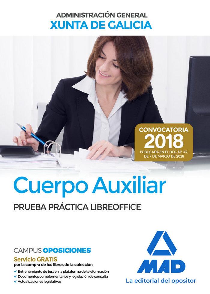 Cuerpo auxiliar administracion general galicia prueba libre