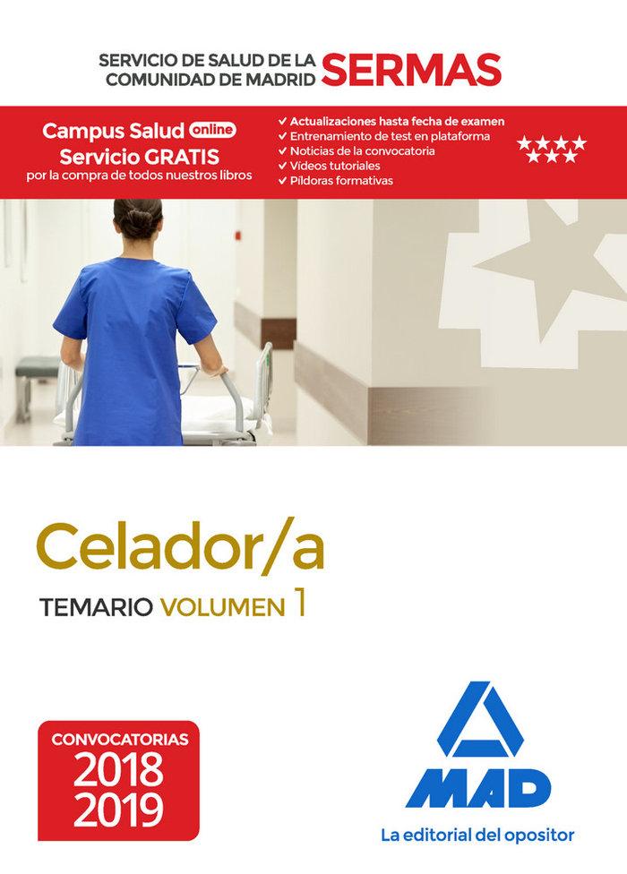 Celador/a servicio salud comunidad madrid vol 1