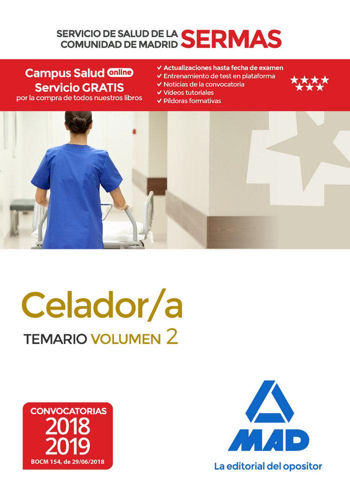 Celador/a servicio salud comunidad madrid vol 2
