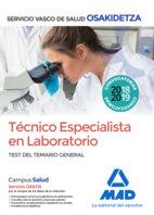 Tecnico especialista laboratorio  osakidetza servicio