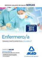 Enfermero/a servicio gallego temario parte especifica 2