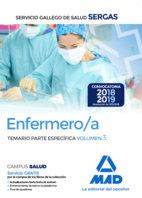Enfermero/a servicio gallego salud temario 3