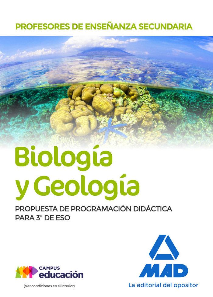 Profesor enseñanza secundaria biologia y geologia 3º eso
