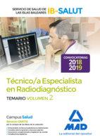 Tecnico especialista radiodiagnostico servicio salud vol 2