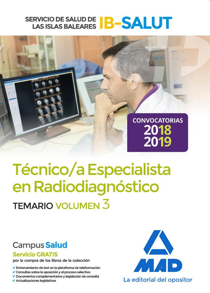 Tecnico especialista radiodiagnostico vol 3