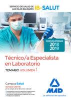 Tecnico/a especialista laboratorio servicio salud balear