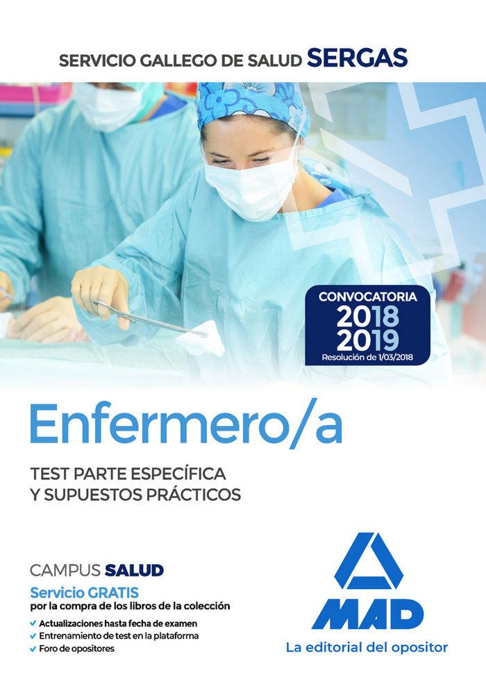 Enfermero/a servicio gallego salud  test parte especial