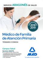 Medico familia atencion primaria servicio aragones temario