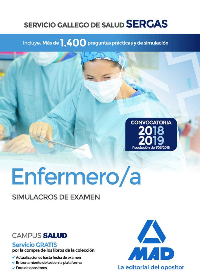 Enfermero/a servicio gallego salud simulacros examen