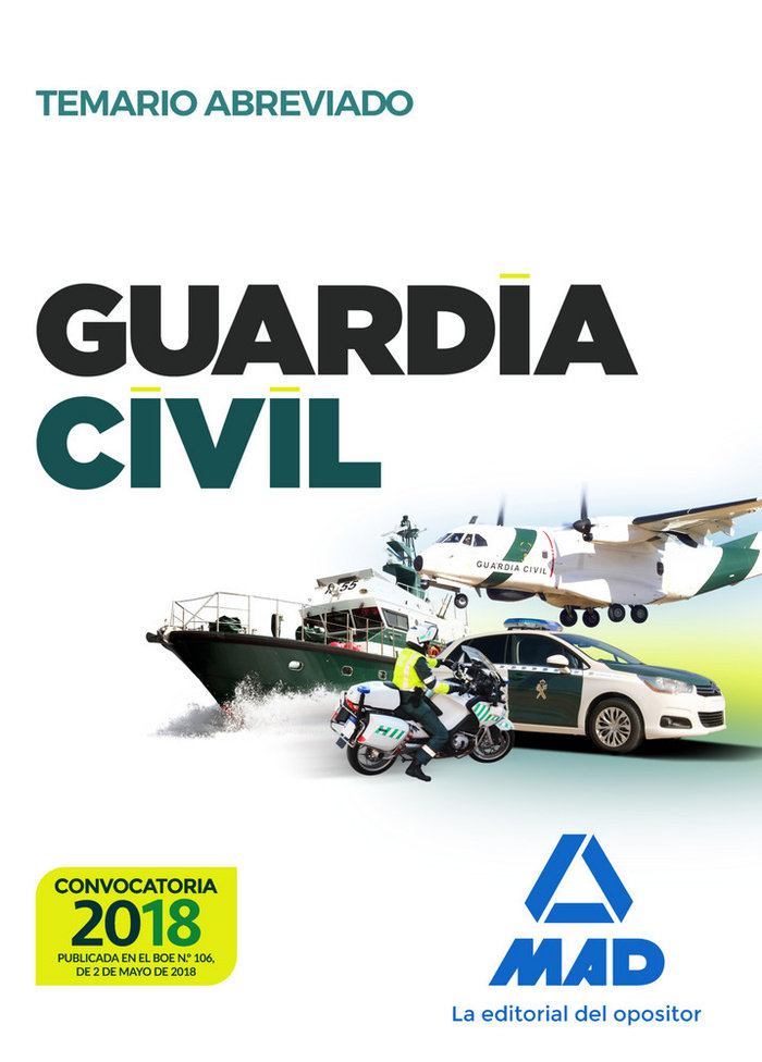 Guardia civil temario abreviado