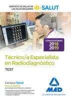 Tecnico especialista radiodiagnostico servicio test