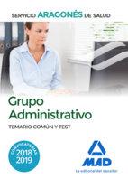 Grupo administrativo servicio aragon salud test