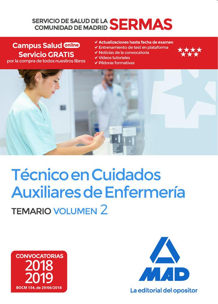 Tecnico cuidados auxiliares enfermeria sermas vol 2