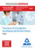 Tecnico en cuidados auxiliares de enfermeria del servicio de