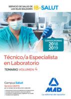 Tecnico/a especialista laboratorio servicio salud vol 4