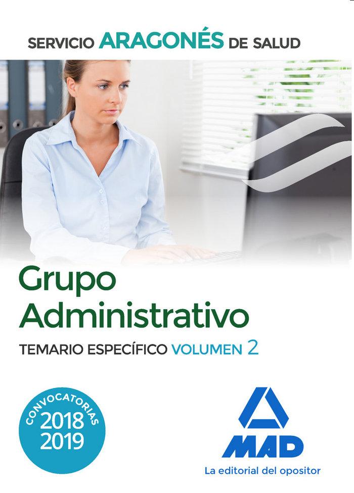 Administrativo salud temario especifico 2