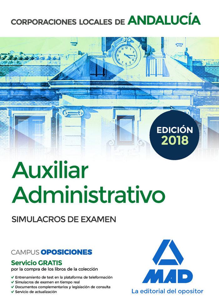 Administrativo corporacion local andalucia simulacro examen