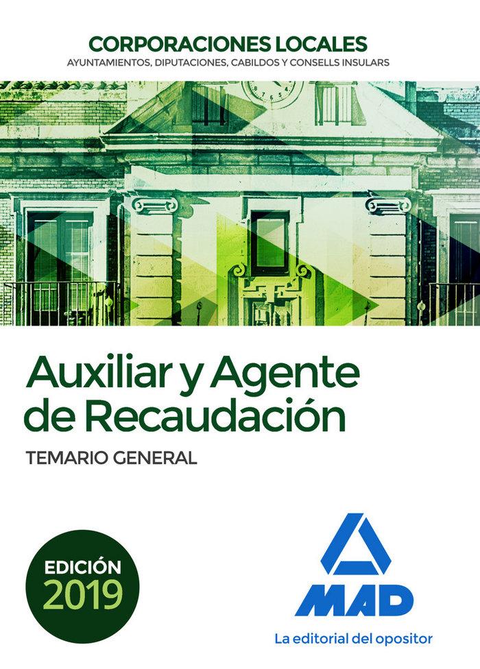 Temario general auxiliar y agente de recaudacion