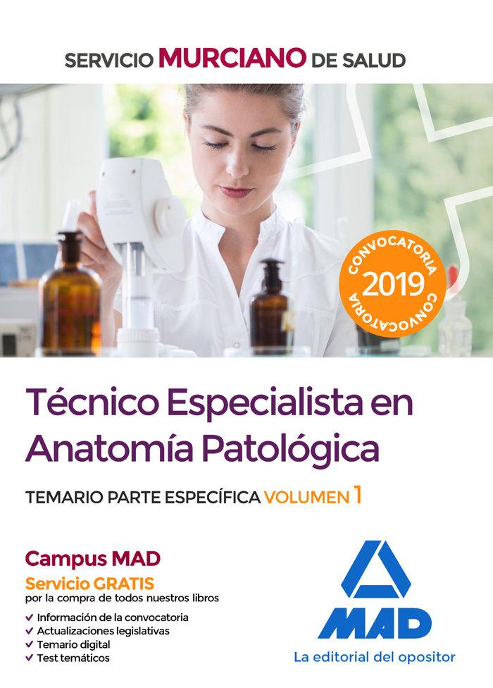 Tecnico especialista anatomia patologica murcia vol 1
