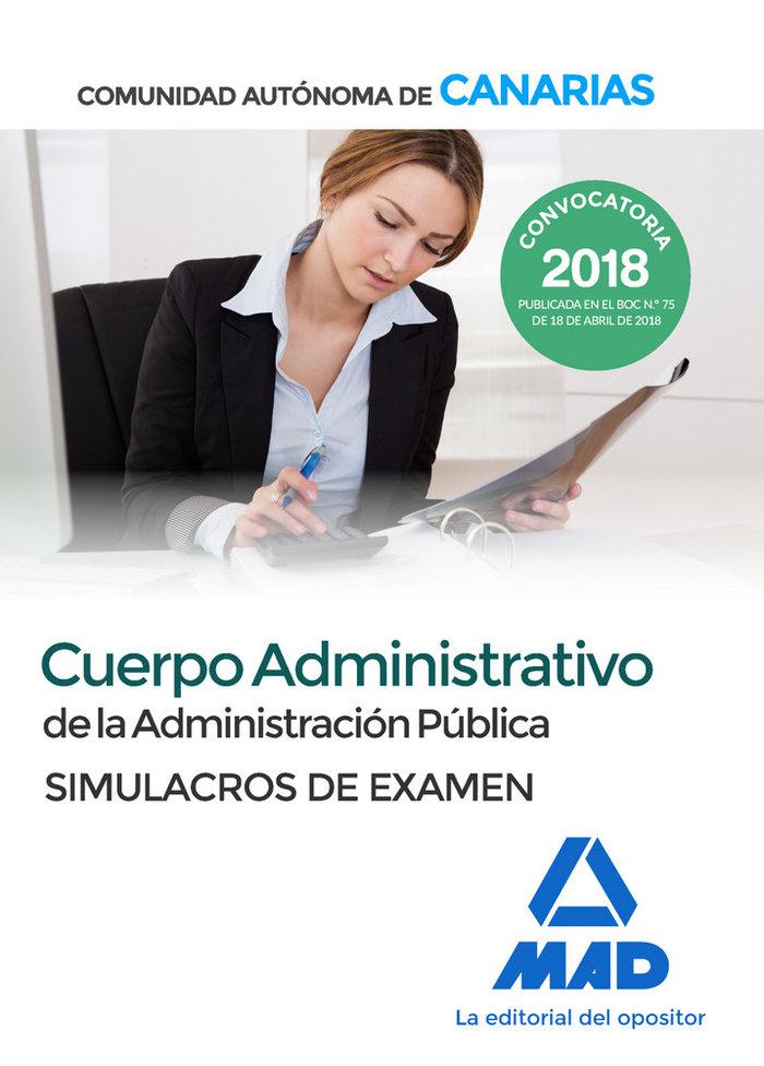 Cuerpo administrativo administracion publica canarias exame