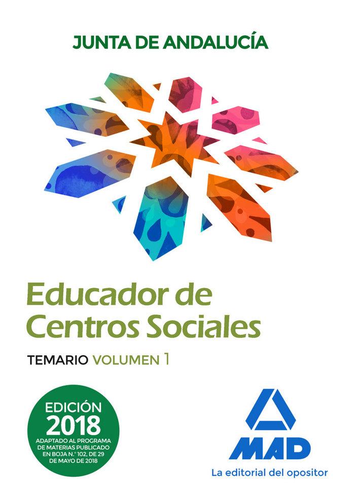 Educadores centros sociales personal laboral junta vol 1