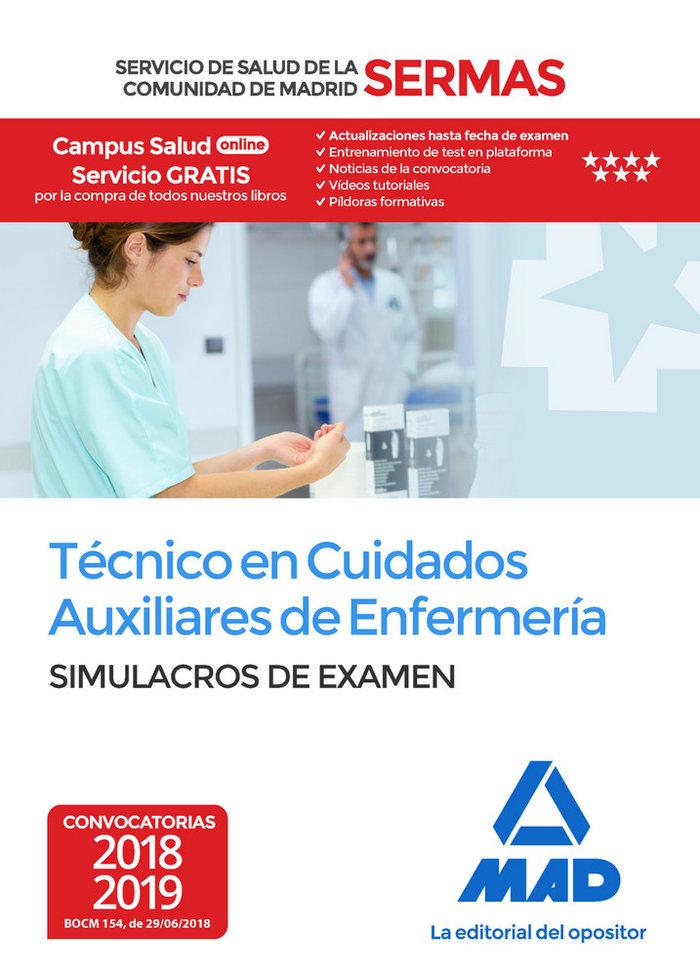 Tecnico en cuidados auxiliares enfermeria madrid simulacro