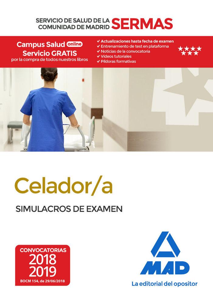 Celador/a servicio salud madrid simulacros de examen 18