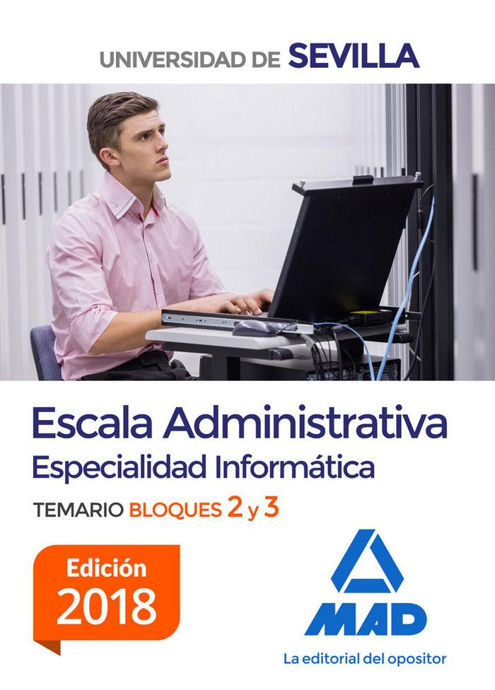 Escala administrativa especialidad informatica univer sevil