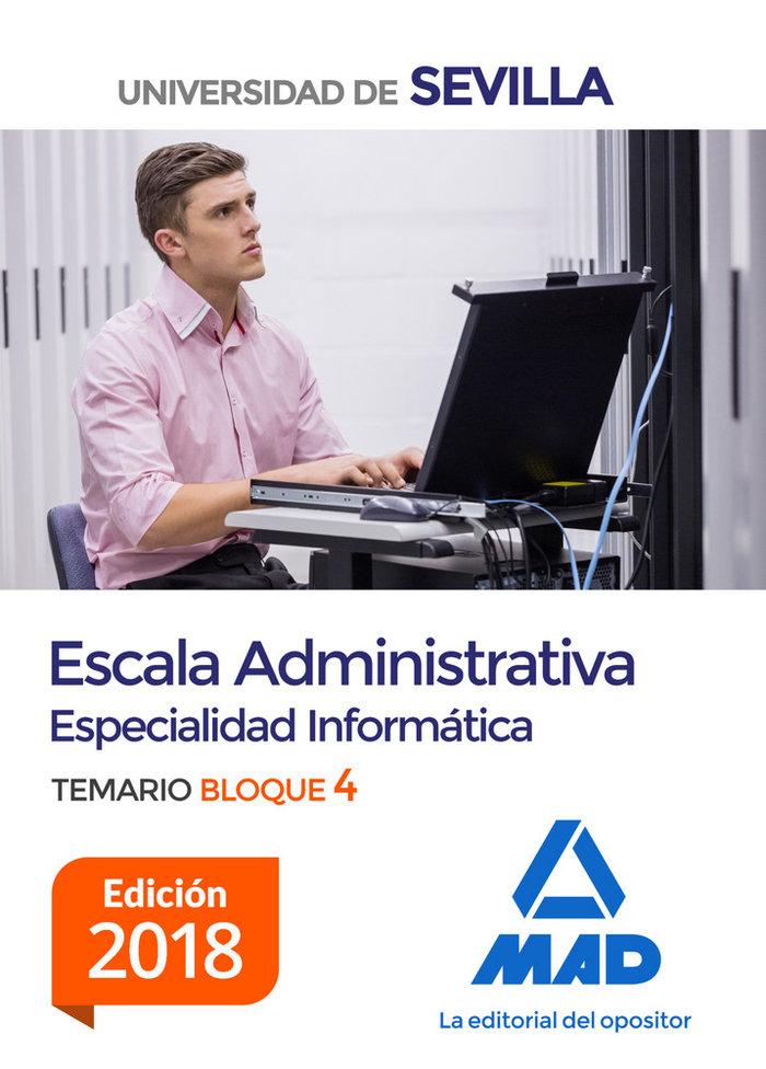 Escala administrativa (especialidad informatica) de la unive