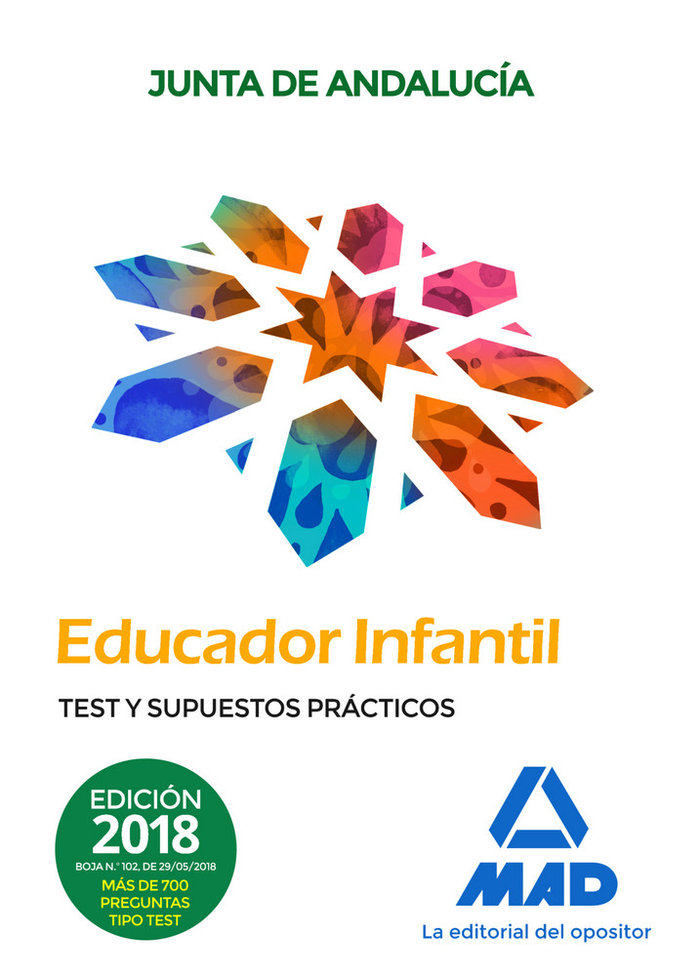 Educadores infantiles personal laboral junta andalucia test