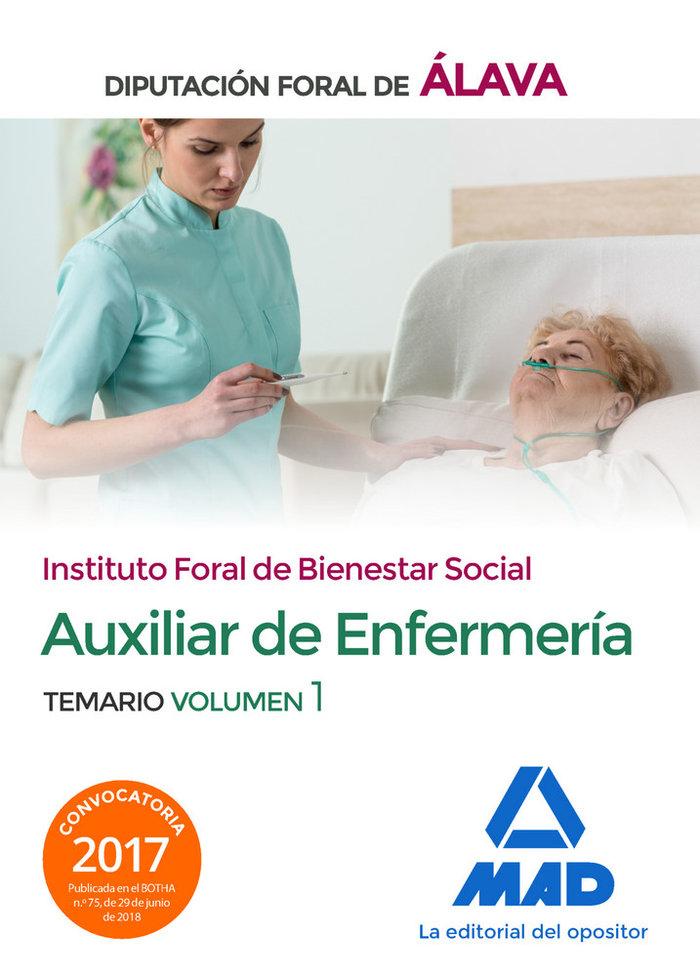 Tecnico/a auxiliar enfermeria vol 1 diputacion alava