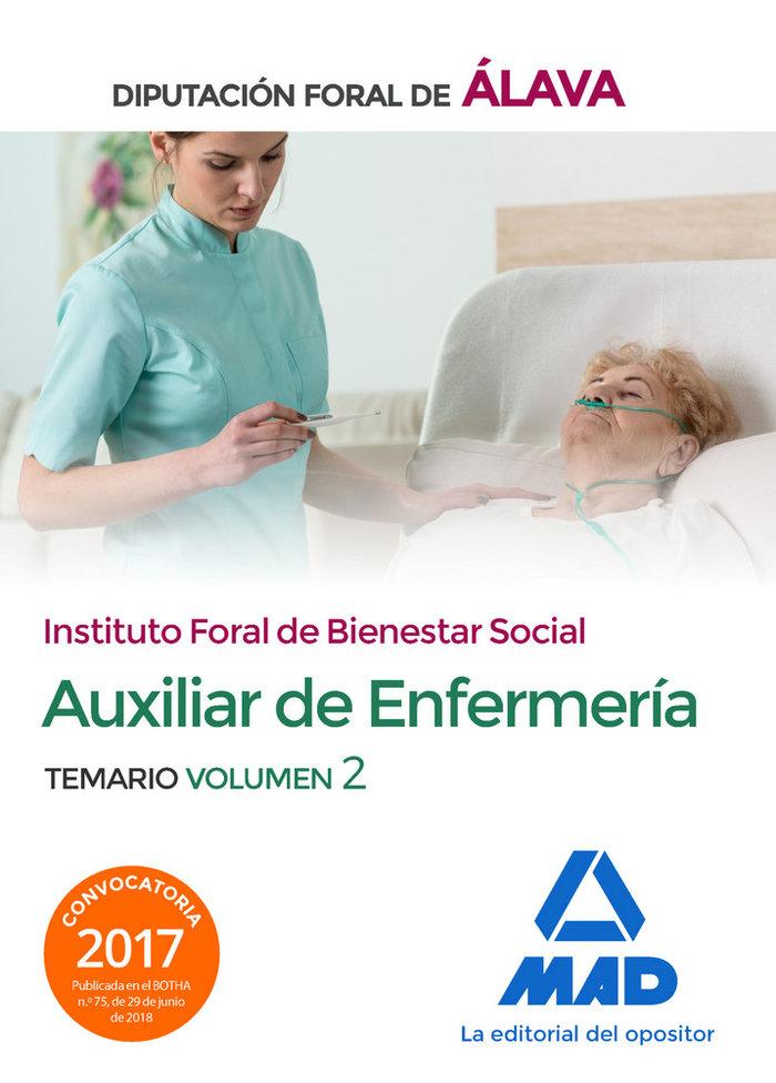 Tecnico/a auxiliar enfermeria vol 2 diputacion alava