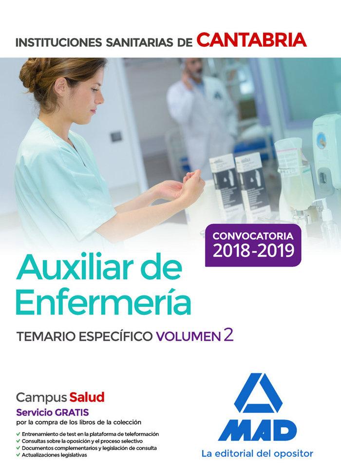 Auxiliar de enfermeria en las instituciones sanitarias de la