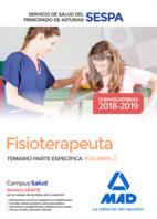 Fisioterapeuta servicio salud principado asturias vol 2