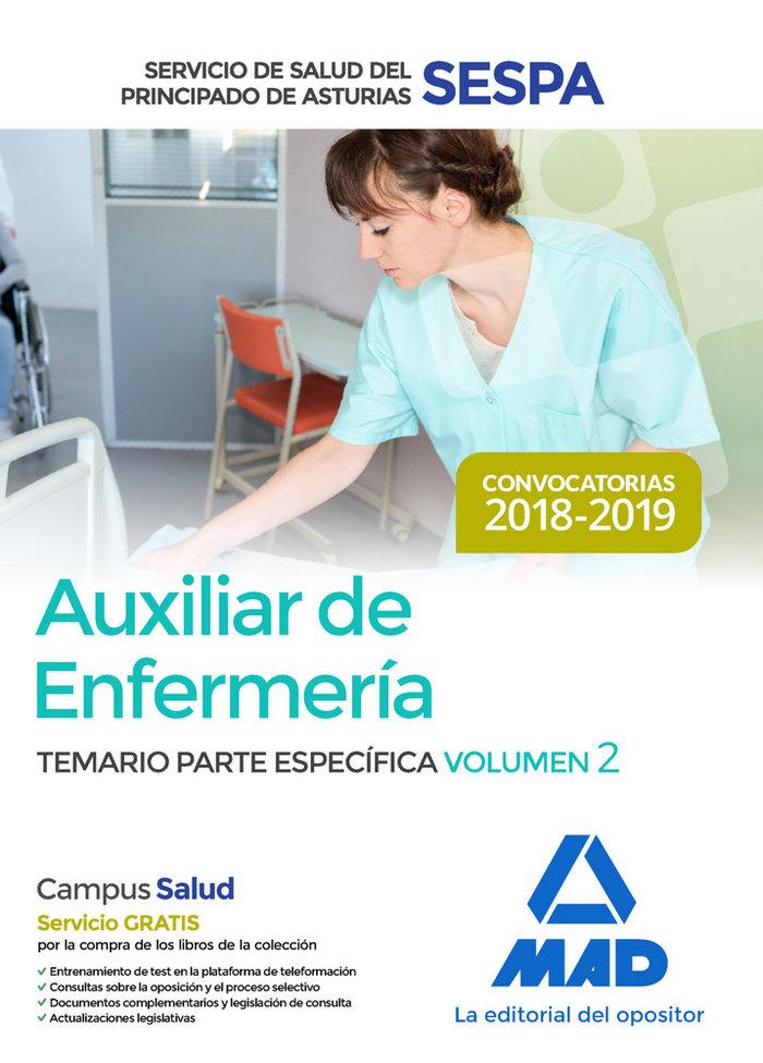 Auxiliar enfermeria servicio salud principado asturias 2