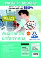 Paquete ahorro auxiliar enfermeria servicio salud asturias