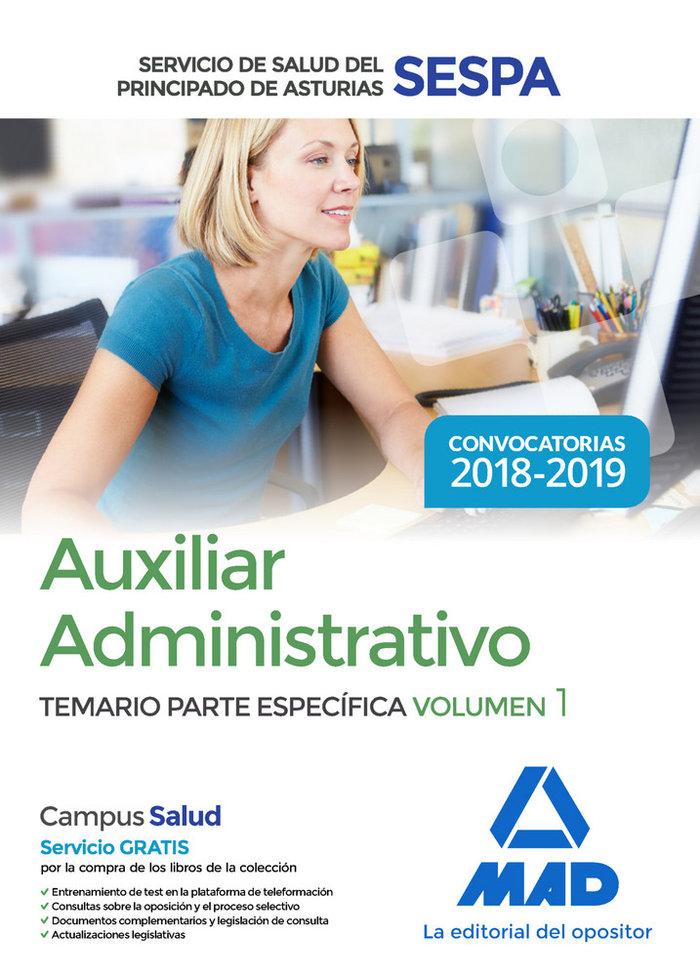 Auxiliar administrativo servicio salud principado asturia 1
