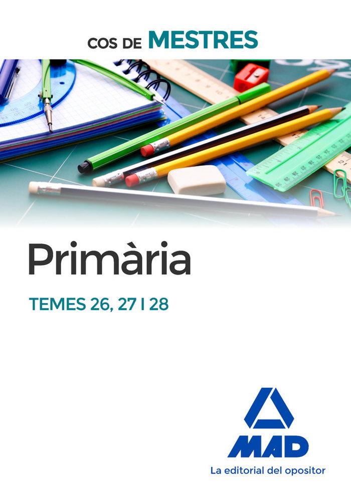 Cos de mestres primaria temes 26 27 i 28