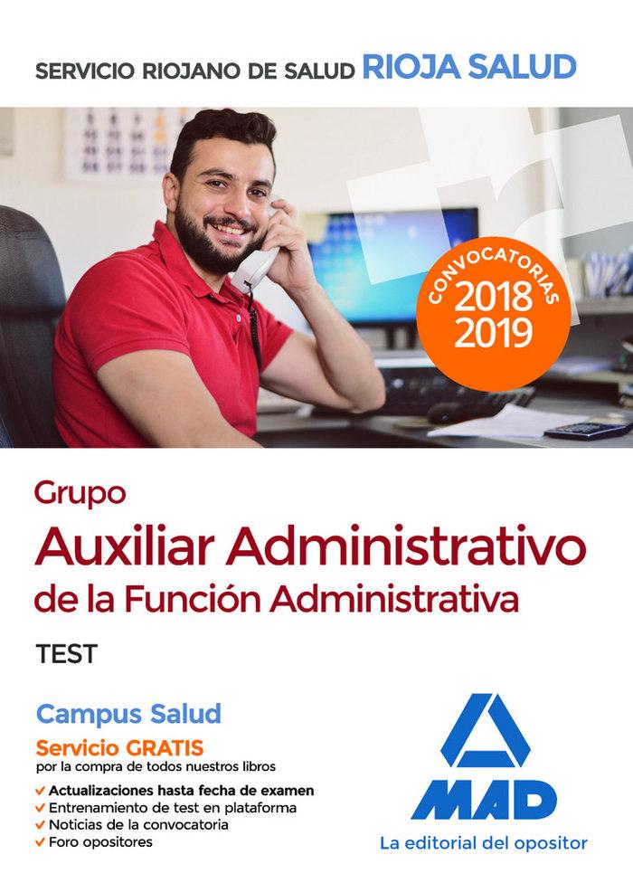 Grupo auxiliar administrativo funcion administrativa test