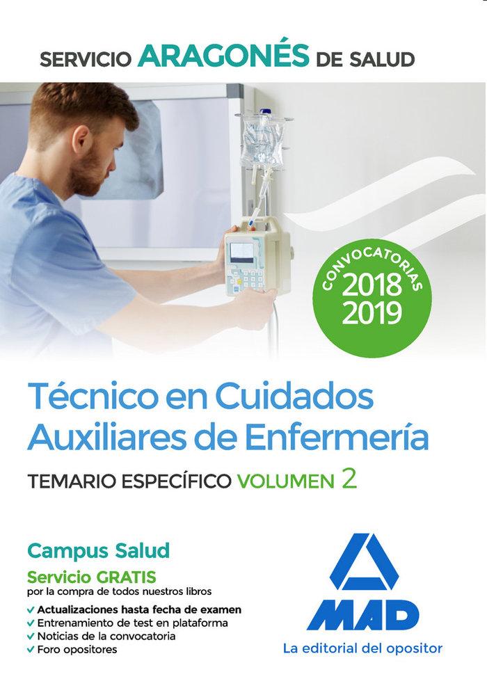 Tecnico cuidados auxiliares enfermeria t especifico vol 2