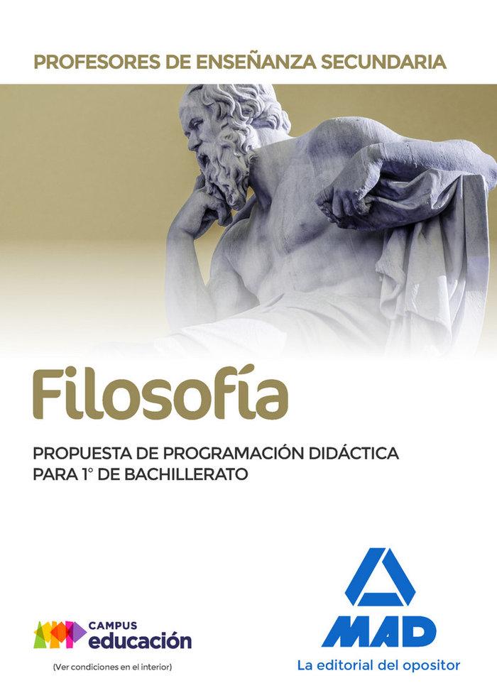 Filosofia prueba didactica 1º bachillerato pes