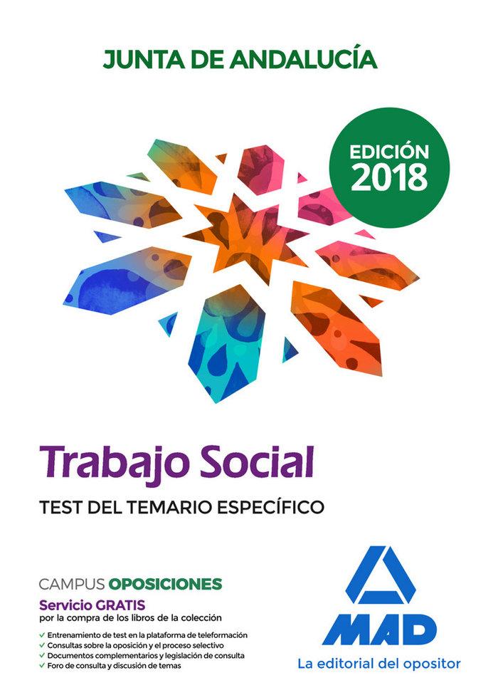 Trabajadores sociales 2018 test especifico