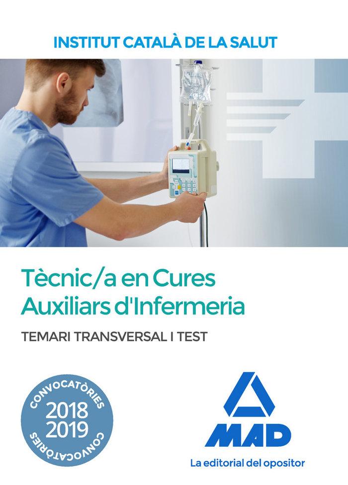 Temari i test transversal per a la categoria de tecnic/a es