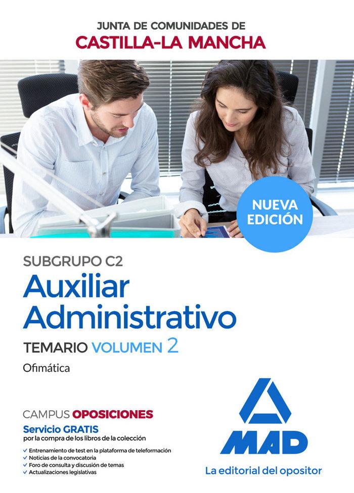 Ofimatica auxiliar administrativo castilla mancha temario 2