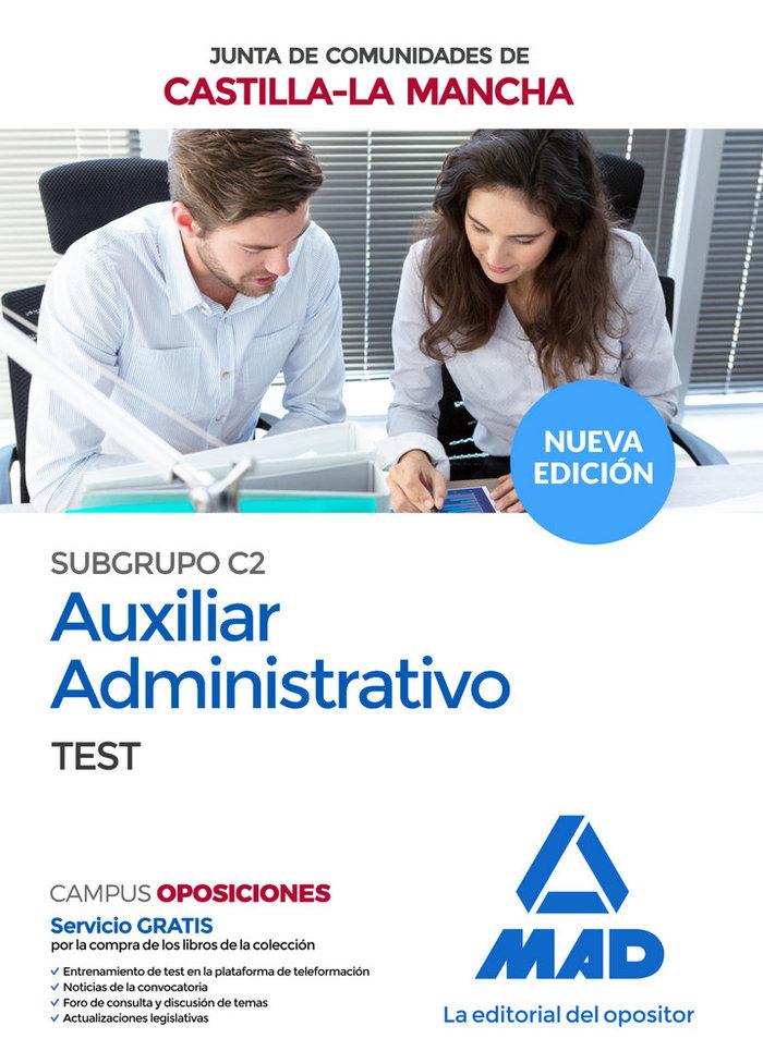 Auxiliar administrativo subgrupo c2 test