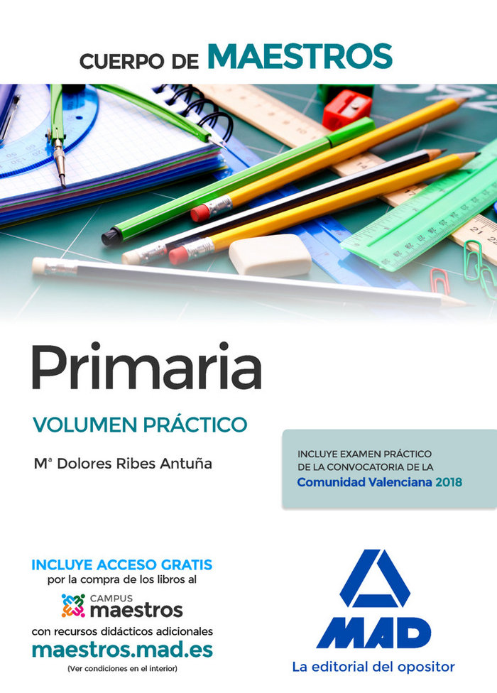 Cuerpo de maestros primaria volumen practico
