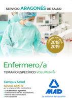 Enfermero/a servicio aragon salud temario especifico vol 4
