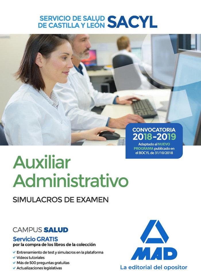 Auxiliar administrativo servicio salud castilla simulacro e