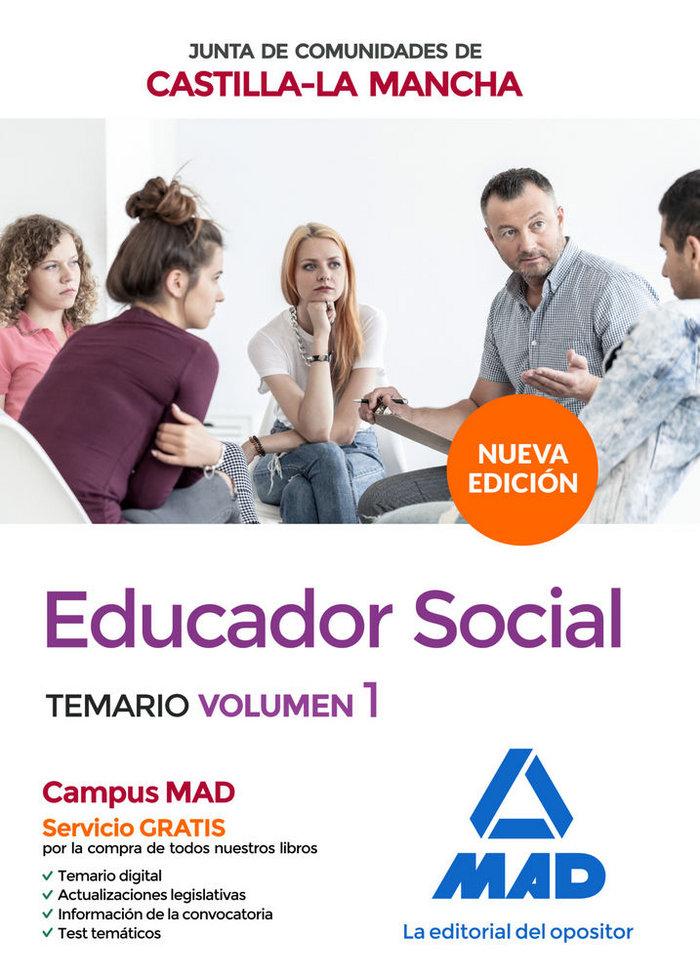Educador social junta comunidad castilla la mancha vol 1